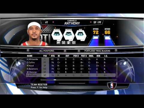 NBA2K14-2020 Roster (All 30 NBA Teams) [Mackubex]