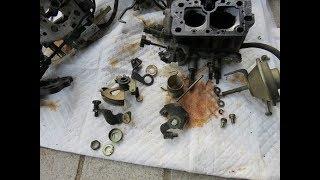 キャブレターのオーバーホール carburetor overhaul