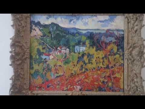 Dallas Museum of Art 7th movie Bougival 1905-1906 Maurice de Vlaminck 1876 - 1958 Dallas USA
