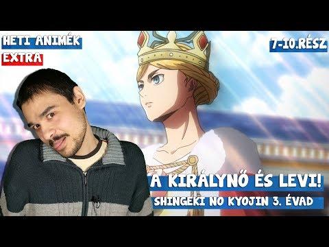 A királynő és Levi! I I Heti Shingeki no Kyojin 3.évad letöltés