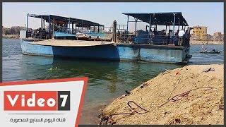 150 ألف نسمة بقرية أولاد سالم سوهاج معرضون للموت غرقا بسبب تهالك المرسى والمعدية النهرية