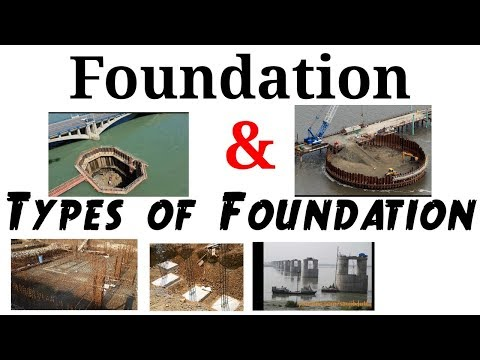 Foundation & Types of Foundation ||Civil Engineer FBH