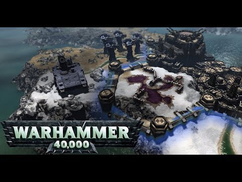El Civilization de Warhammer 40.000: Gladius - Relics of War Gameplay