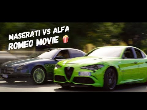 Alfa Romeo Giulia QV vs Maserati QP In Netflix's Most Expensive Film EVER! from YouTube · Duration:  5 minutes 1 seconds
