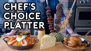 Binging with Babish: Chef's Choice Platter from Monster Hunter: World