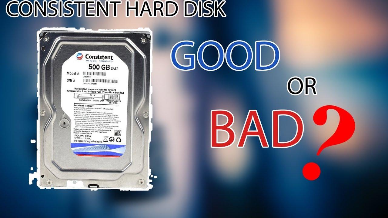 Consistent Internal Hard Disk Ka Review (Hindi)