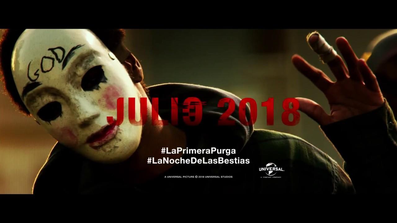La Primera Purga La Noche De Las Bestias Trailer Español Hd Youtube