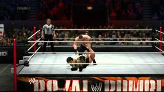 Brock Lesnar vs. Big Show WWE 2K14 No. 1 Contender's Match