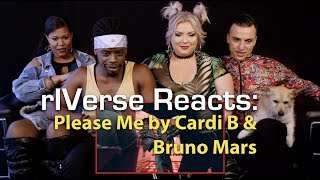 rIVerse Reacts: Please Me by Cardi B & Bruno Mars - M/V Reaction