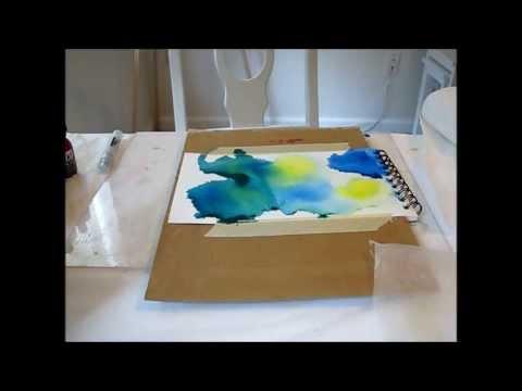 Preparing Wood Panels For Ink Painting