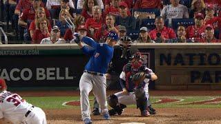 CHC@WSH Gm1: Rizzo rips an RBI single to right field