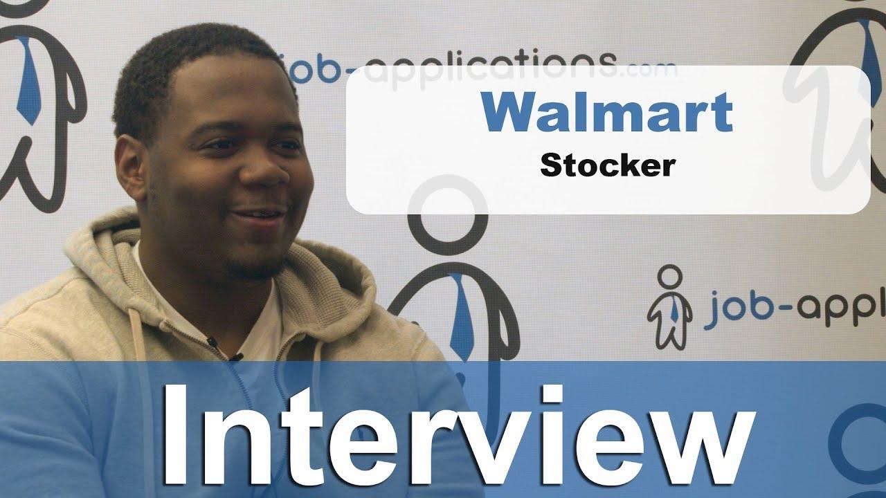 Walmart Interview - Stocker 2