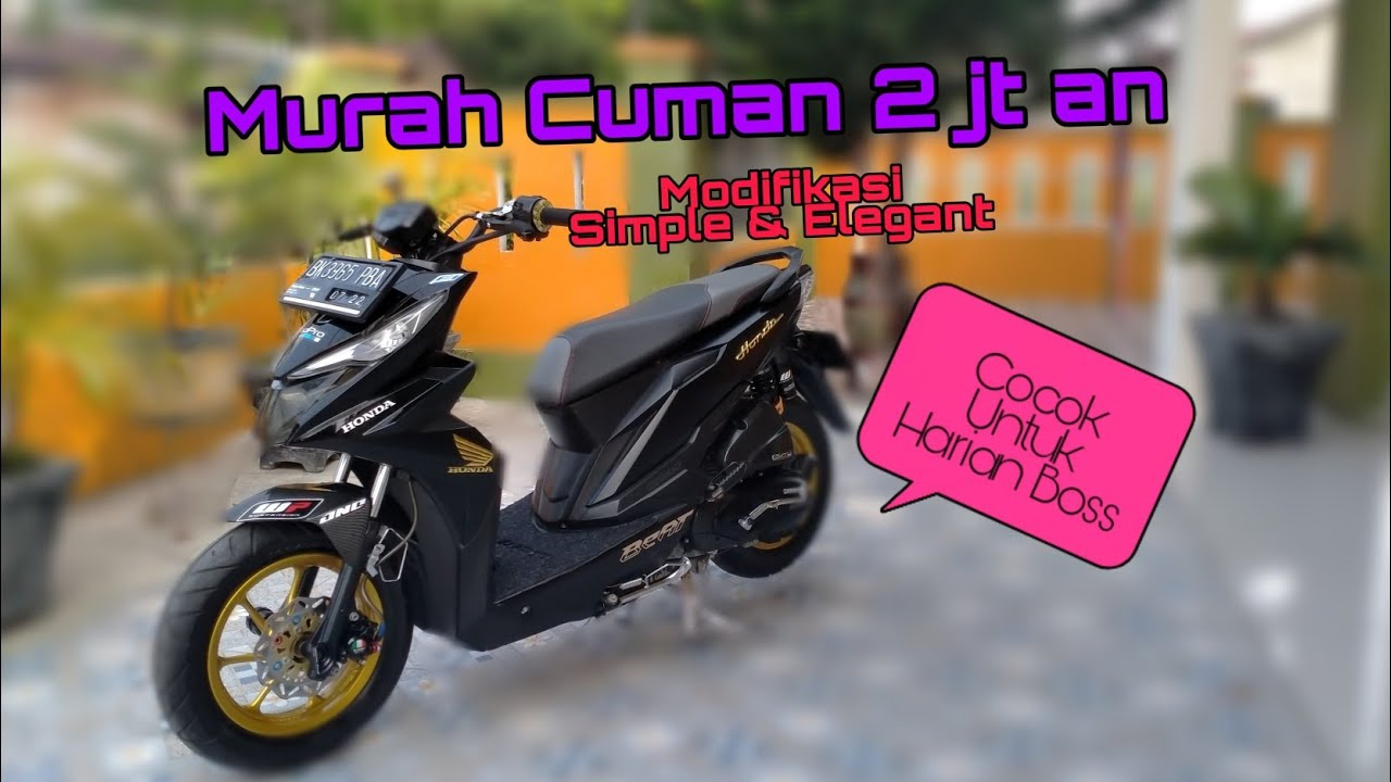 Modifikasi Honda Beat Street Terbaru 2020 Youtube