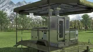 SERT military field kitchen catering life camp solution cooking sanitary equipment army