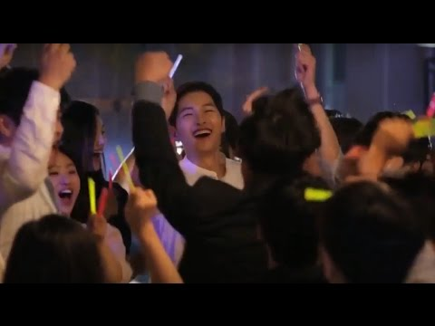 Song Joong Ki Behind the scenes for Korea Tourism CF