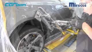 Toplac - Oprava vozu Audi A5 systémem Carbon