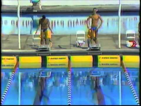 1984 Olympic Games  Men's 100 Meter Butterfly