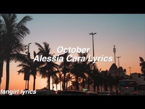 October || Alessia Cara Lyrics