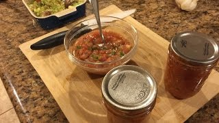 Making Salsa In A Blender- Super Easy!