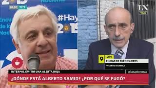 ¿Dónde está Alberto Samid?: Habló su abogado - Café de la Tarde