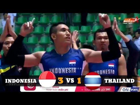 Timnas Voli Indonesia Juara Pertama Turnamen Lienvietpostbank 2018 Setelah Mengalahkan Thailand