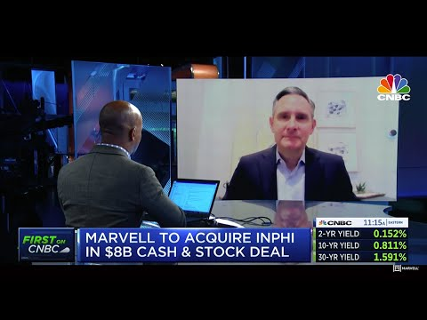 Matt Murphy on CNBC - Marvell to Acquire Inphi   Marvell Semiconductor