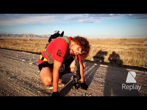 Joshua Bryant at Pony Express 100 endurance run