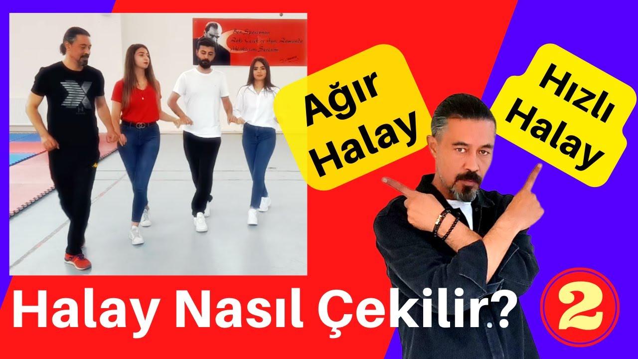 Ağır Halay ve Hızlı Halay Nasıl Çekilir! Halay Eğitim Videosu Bölüm 2. Hemen Öğrenin.