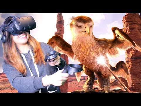 HARRY POTTER UNIVERSE IN VR!! | Fantastic Beasts and Where to Find Them VR (HTC Vive)