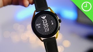 Emporio Armani Smartwatch 3 review: High-end Wear OS
