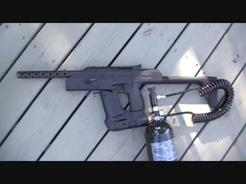 **** WE SHOOT IT ALL ****   Drozd Blackbird Full Auto BB Machine Gun  ** MUST SEE **