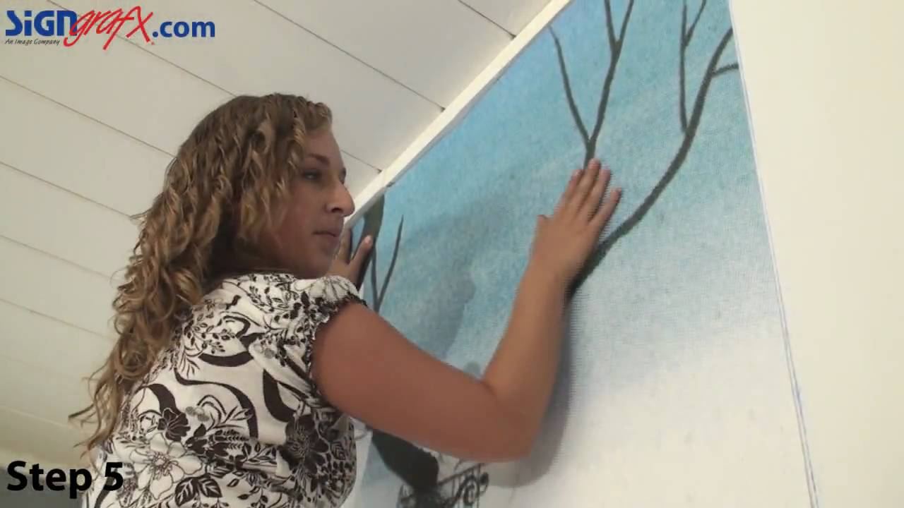 How to install a wall mural youtube amipublicfo Gallery