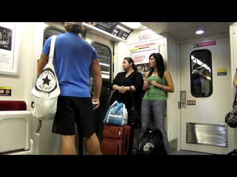 TTC Bombardier Toronto Rocket 5421-Subway Ride