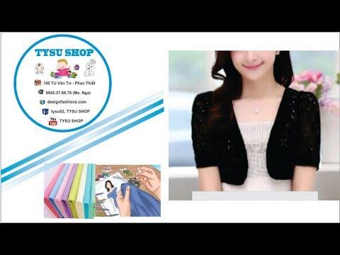 254-thiết Kế Áo Khoác Lửng|dạy Cắt May Online Miễn Phí | Sewing Online Class Free | Tysu Shop
