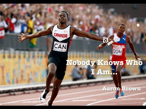 Nobody Knows Who I Am...  AARON BROWN  Episode 1