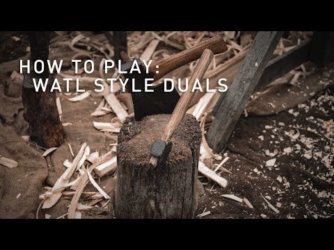 How to Play World Axe Throwing League Duals (Axe Throwing Game)