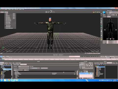 autodesk character generator to motionbuilder