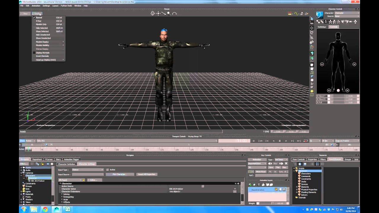 autodesk character generator to motionbuilder youtube. Black Bedroom Furniture Sets. Home Design Ideas