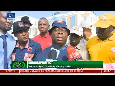 Staff Protest: NAICOM Director Debunks Allegations |News Across Nigeria|
