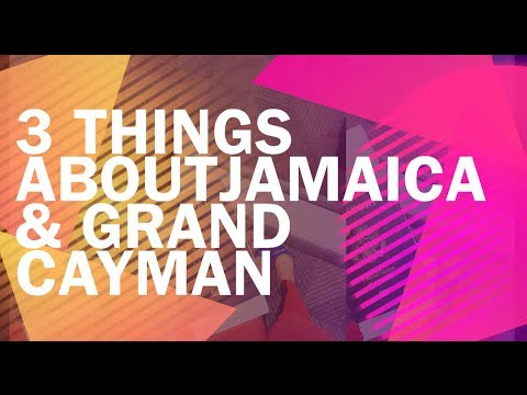 3 Thing About Our Jamaica and Grand Cayman Trip // A Morg Harp Nich Slideshow