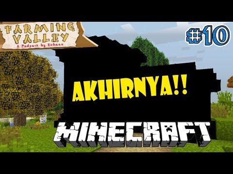AKHIRNYA TOOLS KITA AMAN - Minecraft Farming Valley Indonesia #10