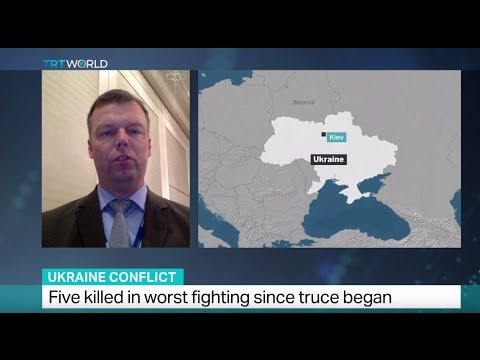 Ukraine Conflict: Interview with Alexander Hug on the latest escalations in Eastern Ukraine