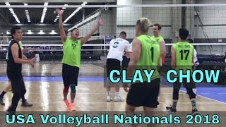 Clay Chow Volleyball Highlights - USAV Nationals 2018