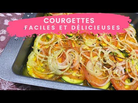recette-de-courgettes-facile-au-four-🟢---super-rapide,-santé,-un-délice!