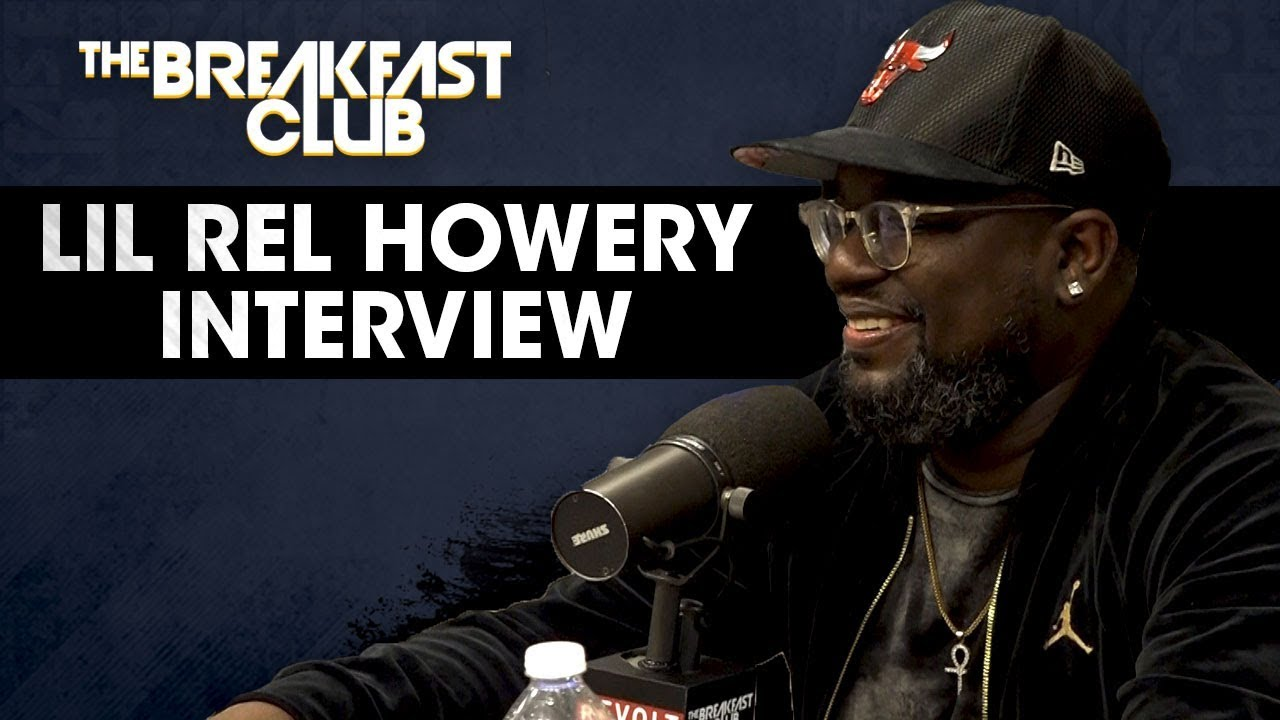 Image result for lil rel howery the breakfast club