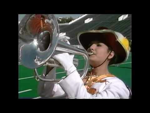 Zapata High School Band 1989 - UIL 3A Texas State Marching Contest