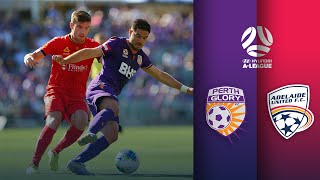 Perth Glory vs Adelaide United | A-League Round 14
