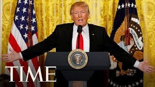 President Trump Holds A News Conference To Discuss The 2020 Census | TIME