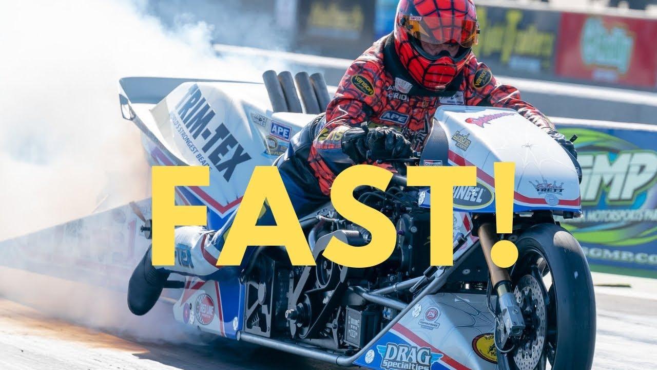 Larry Mcbride Best Run On New Top Fuel Bike Youtube