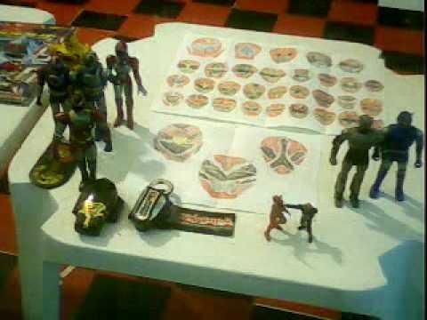 anime friends 2010-sala de  exposição do tokusatsu e changeman.avi
